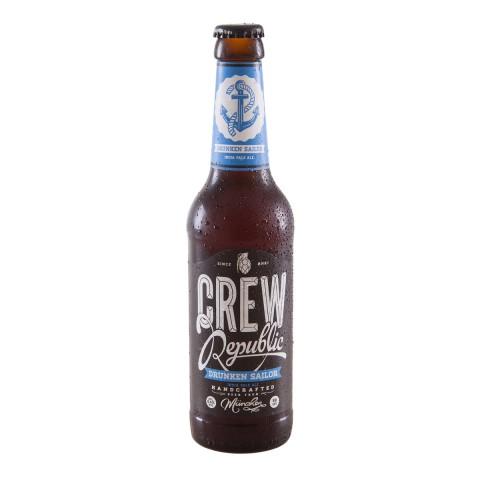 Bouteille de bière CREW REPUBLIC DRUNKEN SAILOR IPA 6.4 VP33CL