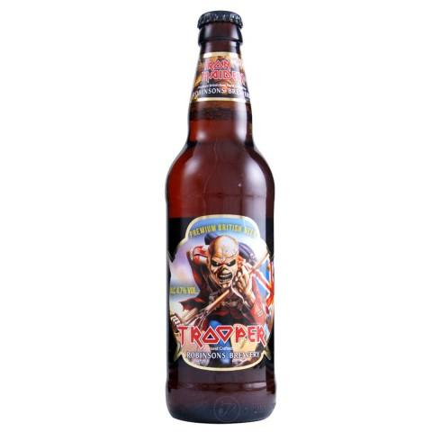 Bouteille de bière IRON MAIDEN TROOPER 4.7° VP50