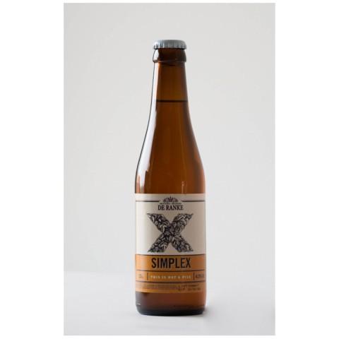 Bouteille de bière DE RANKE SIMPLEX VC24X33CL