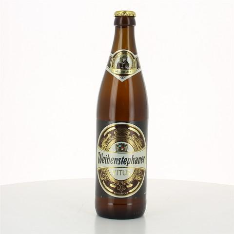 Bouteille de bière WEIHENSTEPHAN VITUS BOCK 7.7°