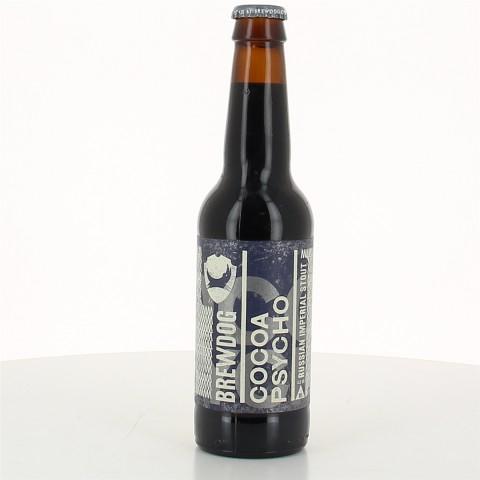 Bouteille de bière BREWDOG COCOA PSYCHO 10° VP33CL
