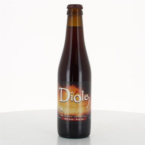 Bouteille de bière DIOLE BRUNE 8.5°