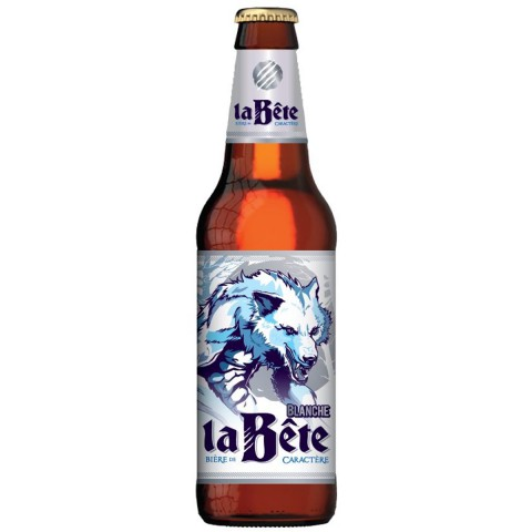Bouteille de bière LA BETE BLANCHE 5.2° VP33CL