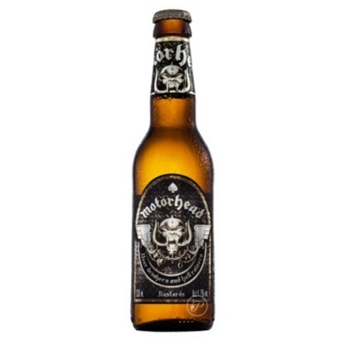 Bouteille de bière MOTORHEAD 4.7° VP33CL