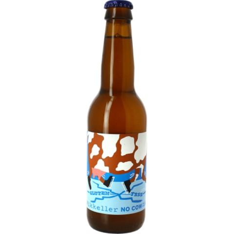 Bouteille de bière MIKKELLER NO COW IN THE ICE GLUTEN FREE 6.9° VP33