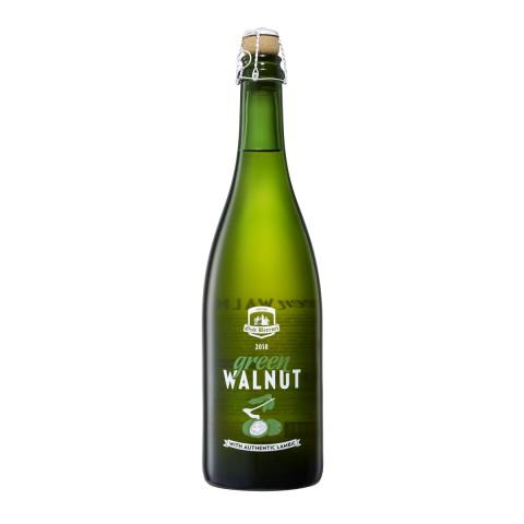 Bouteille de bière OUD BEERSEL GREEN WALNUT 2018 6° VP75CL