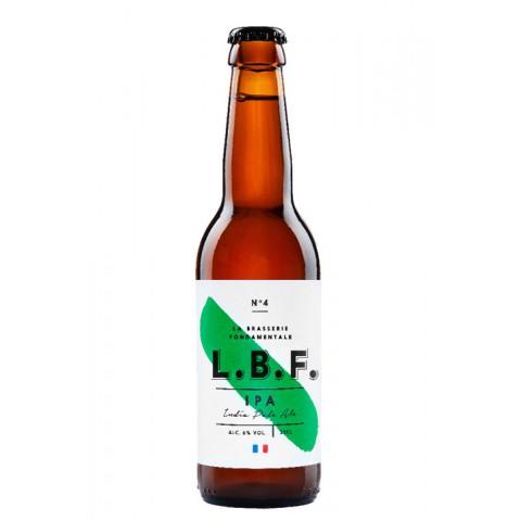 Bouteille de bière LA BEER FABRIQUE IPA 6.0°