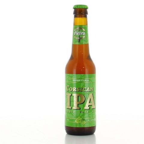 Bouteille de bière PIETRA CORSICAN IPA 6° VP33