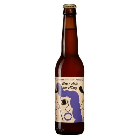 Bouteille de bière MIKKELLER PETER PALE MARY 4.6° VP33CL