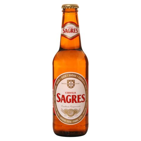 Bouteille de bière Sagres 5,1°