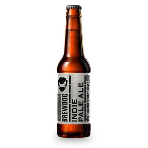 Bouteille de bière BREWDOG INDIE PALE ALE 4.2° VP33