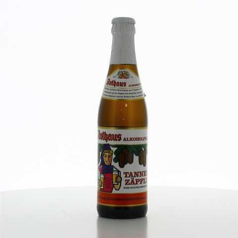 Bouteille de bière ROTHAUS ZAPFLE ALKOHOLFREI VC33