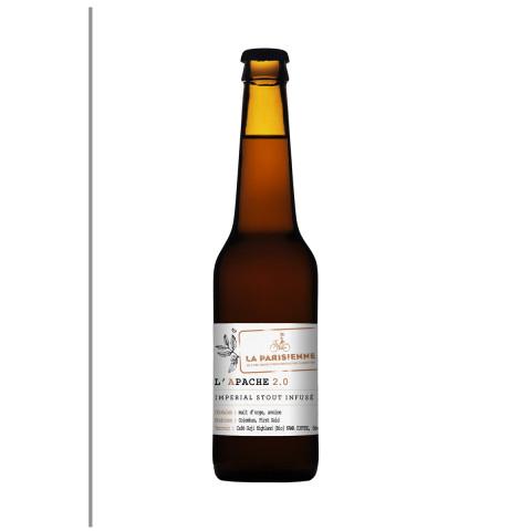 Bouteille de bière LA PARISIENNE APACHE.5° VP33CL