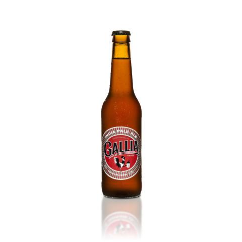 Bouteille de bière GALLIA WEST IPA 6° VP33CL