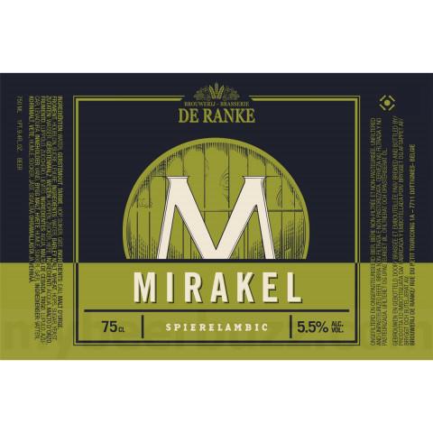 Bouteille de bière DE RANKE MIRAKEL 5.5°
