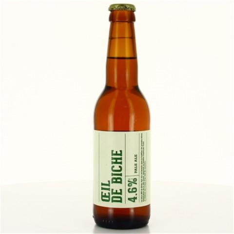 Bouteille de bière OEIL DE BICHE PBC PANAME 4.6° VP33CL