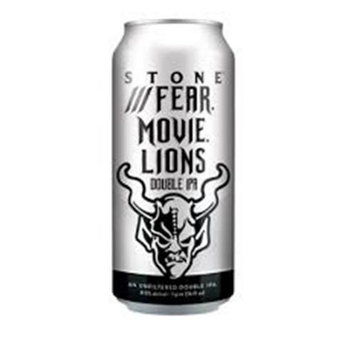 Bouteille de bière STONE FEAR MOVIE LIONS 8.5° BOITE 47.3CL