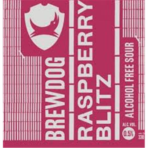 Bouteille de bière BREWDOG RASPBERRY BLITZ 0.5° KK30L