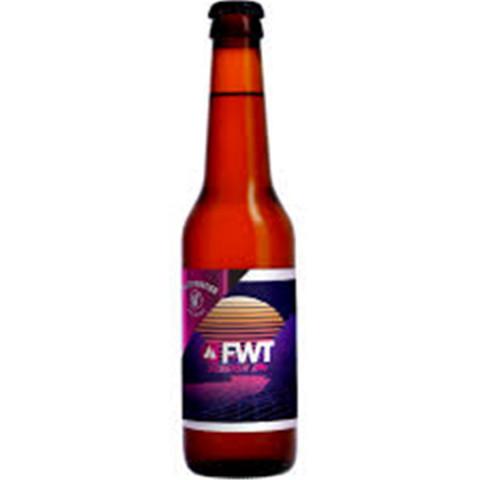Bouteille de bière WHITE FRONTIER FREERIDE SESSION IPA 3.5° VP33CL