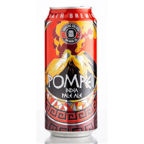 Bouteille de bière TOPPLING GOLIATH POMPEI IPA 6.2° BOITE 47.3CL