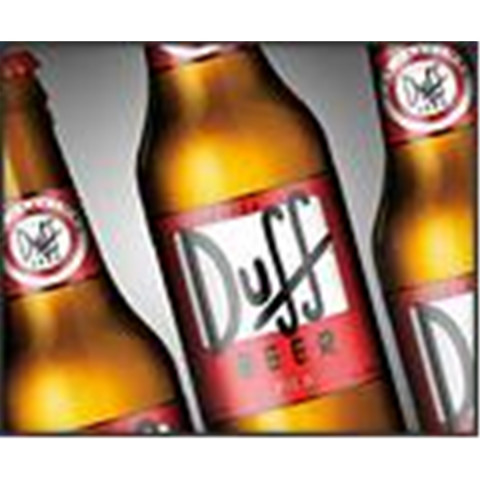Bouteille de bière DUFF BEER 5°