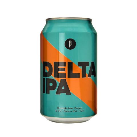 Bouteille de bière BRUSSELS BEER PROJECT DELTA IPA 6.5° BOITE 33CL