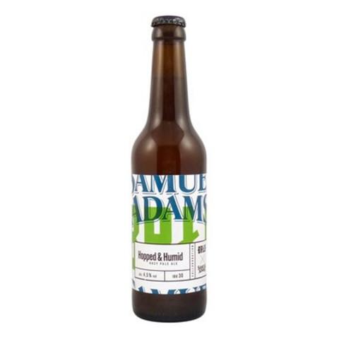 Bouteille de bière BRLO SAMUEL ADAMS HOPPED & HUMID 4.5° VP33CL