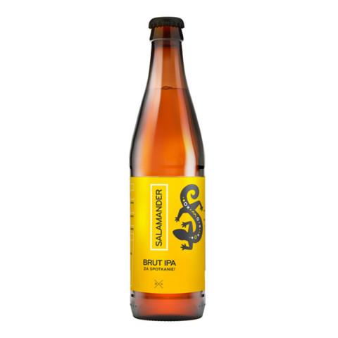 Bouteille de bière STU MOSTOW SALAMANDER BRUT IPA 6.3° VP33CL