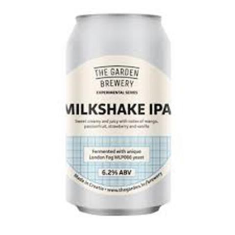 Bouteille de bière THEGARDEN BREWERY MILKSHALE IPA 6.7° BOITE 33CL