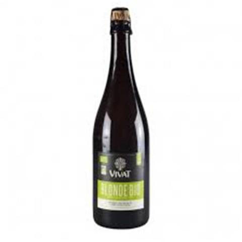Bouteille de bière VIVAT BLONDE BIO 6.0° VP75CL