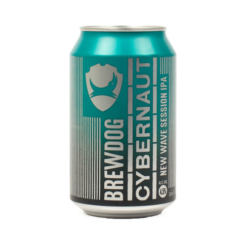 Bouteille de bière BREWDOG CYBERNAUT SESSION NEIPA 4.5° BOITE 33CL X 24