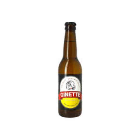 Bouteille de bière GINETTE BIO LAGER 4.5° VP33CL