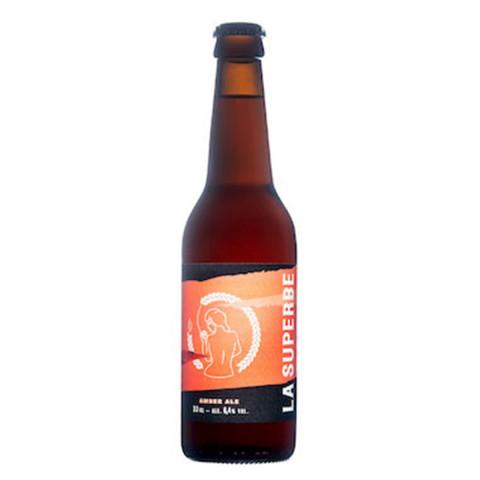 Bouteille de bière LA SUPERBE AMBER ALE 6.4° 24X33CL
