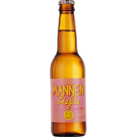 Bouteille de bière OEDIPUS MANNENLIEFDE SAISON CITRONNELLE 6° VP33CL