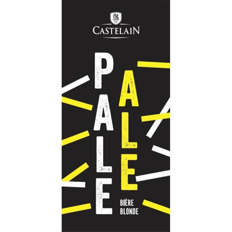 Bouteille de bière CASTELAIN PALE ALE 7° VP75CL