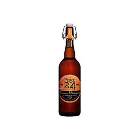 Bouteille de bière PAGE 24 AMBREE 6.9° (Bière)