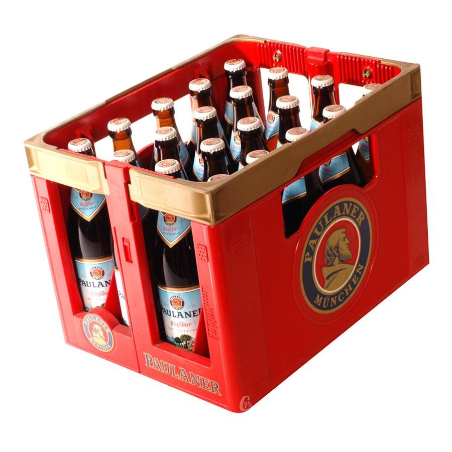 bouteille de bi re paulaner klaar weiss bier. Black Bedroom Furniture Sets. Home Design Ideas