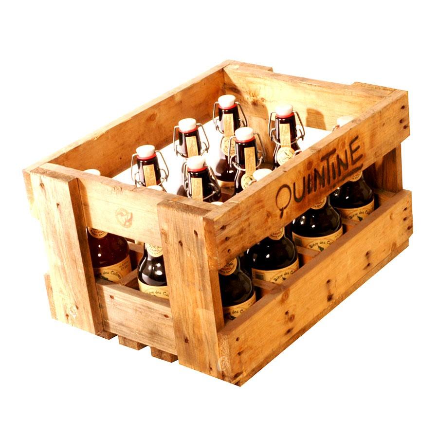 bouteille de bi re quintine ambr e 8 5. Black Bedroom Furniture Sets. Home Design Ideas