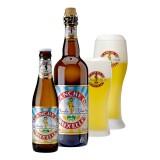 Bouteille de bière Blanche de Bruxelles 4,5°
