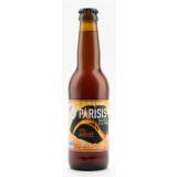 Bouteille de bière Parisis ambrée 6,2° 33cl