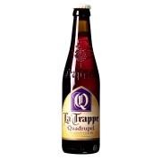 Bouteille de bière La Trappe Quadruple 10°