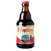 Bouteille de bière Saint Feuillien Brune 7.5° Biere d Abbaye