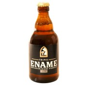 Bouteille de bière Ename Triple Blonde 9°