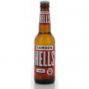 Bouteille de bière CAMDEN HELLS LAGER 4.6° VP24X33CL