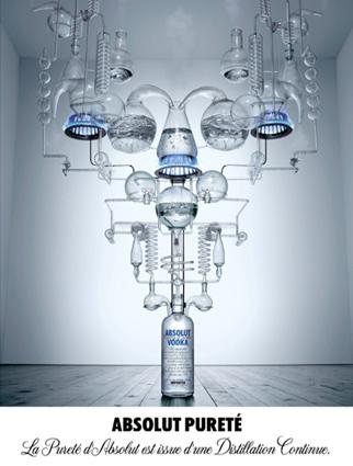 absolut vodka la pureté