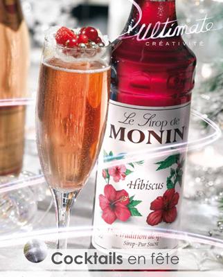Cocktails en Fête par Monin